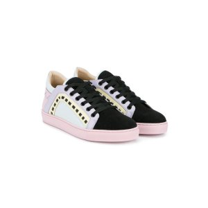 Sophia Webster Suede And Leather 'Riko' Trainers - Farfetch