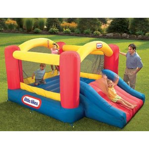 Little Tikes Jump 'n Slide Inflatable Bouncer