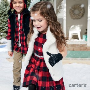 Last Day: 50% Off + Extra 25% Off $40Free Shipping Holiday Sale @ Carter's
