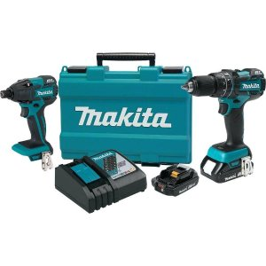 $269Makita  Details about brand 18-Volt LXT Lithium-Ion Brushless Cordless Hammer Drill and Impact Driver Combo Kit