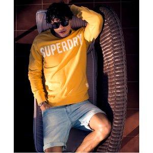 Superdry Solo Sport Crew Neck Sweatshirt - Men's Sweaters