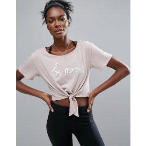 Free People Movement Knotted T-Shirt