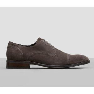 All Gather-Ed Suede Oxford | Kenneth Cole