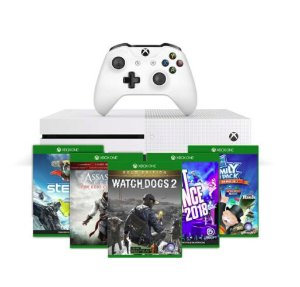 $189Xbox One S 500GB Console + Free Game and 1-Month Game Pass