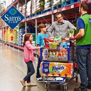 $30+$5 e-Gift CardOne-Year Sam's Club Savings Membership Package