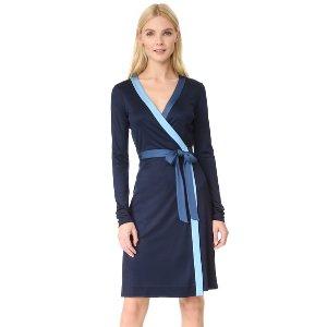 Diane von Furstenberg Long Taped Wrap Dress | SHOPBOP