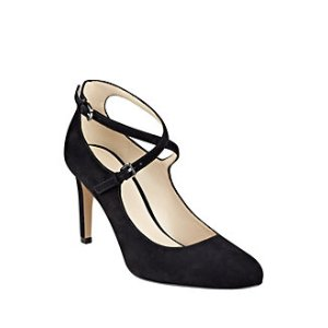 Hannley Suede Pumps
