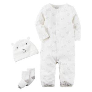 Carter's Little Baby Basics Neutral 3-Piece Layette Set - JCPenney