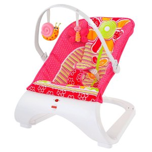 Fisher-Price® Comfort Curve™ Bouncer - Floral Confetti | CHN07 | Fisher Price