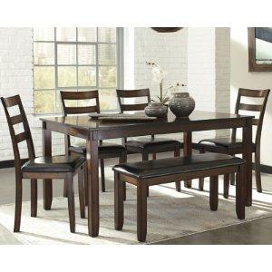 Coviar餐桌椅6件套