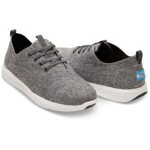 Forged Iron Grey Space-Dye Men's Del Rey Sneakers   TOMS®