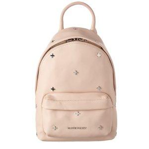 Givenchy Givenchy Cross Embellished Mini Leather Backpack (440305501) | Bluefly.Com