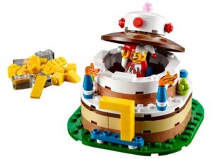 LEGO® Iconic Birthday Table Decoration