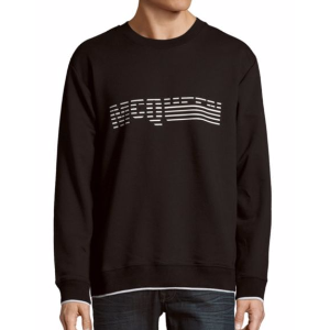 Alexander McQueen - Solid Cotton-Blend Pullover - saksoff5th.com