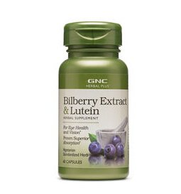 $13.99GNC Herbal Plus® Bilberry Extract & Lutein