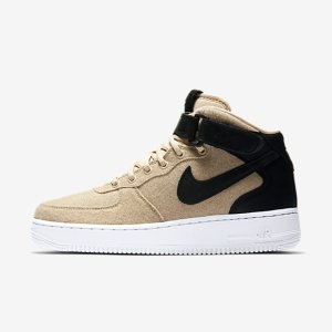Nike Air Force 1 07 Mid Leather Premium Women's Shoe.