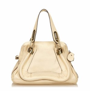 Chloe Pre-Owned: Leather Paraty (425495101) | Bluefly.Com