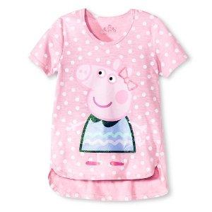 Girls' Peppa the Pig Tee : Target