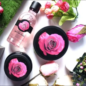 Buy 2 Get 1 Or Buy 3 Get 3British Rose Collection @ The Body Shop
