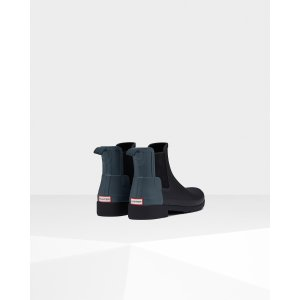 Womens Blue Refined Chelsea Boots | Official US Hunter Boots Store