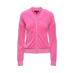 J BLING WESTWOOD VELOUR JACKET - Juicy Couture
