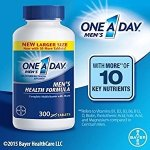 One A Day Multivitamin, Men's Health Formula , 200 Tablet Bottle