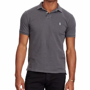Custom Slim Weathered Polo - Slim Fit  Polo Shirts