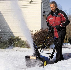 $119Snow Joe Ultra 18 in. 15 Amp Electric Snow Blower with Light