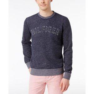 Tommy Hilfiger Men's Slub Logo Sweater - Sweaters - Men - Macy's