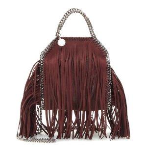 Stella McCartney - Falabella Mini fringed shoulder bag