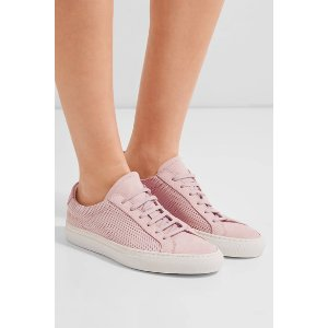 Common Project Original Achilles perforated nubuck sneakers