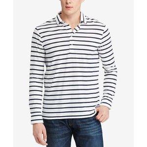 Polo Ralph Lauren Men's Striped Jersey Polo - Polos - Men - Macy's