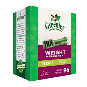 史低!$11.64包邮GREENIES Weight Management 汪星人洗牙棒,27盎司装,Teenie