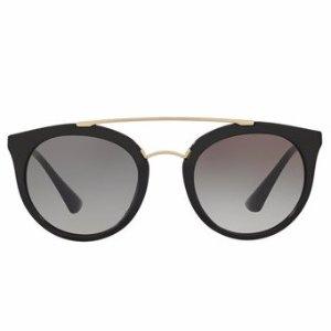 Prada Round Brow-Bar Sunglasses