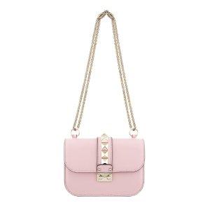 Valentino Garavani Small Rockstud Lock Bag