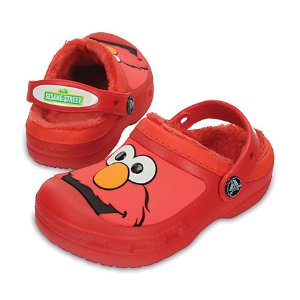 Kid's Elmo™ Lined Clog | Crocs