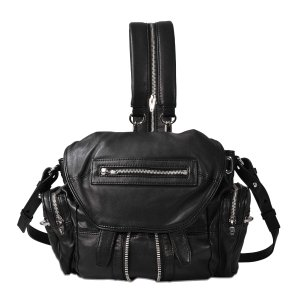 Mini Marti Ball Stud Backpack Alexander Wang Black