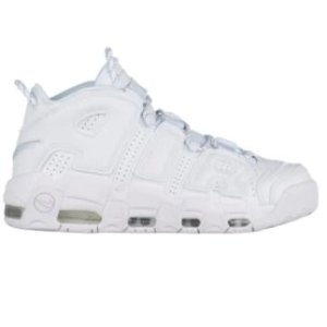 Nike Air More Uptempo - Men's - Basketball - Shoes - White/White/White