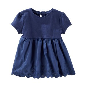 Toddler Girl Eyelet Peplum Top | OshKosh.com