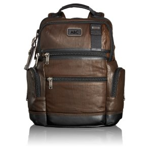 Knox Leather Backpack - Alpha Bravo | Tumi US