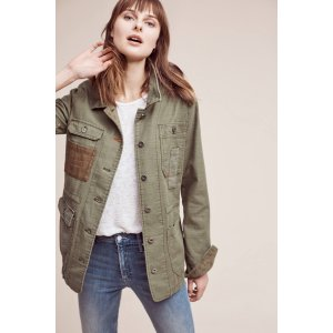 Patched Utility Jacket | Anthropologie