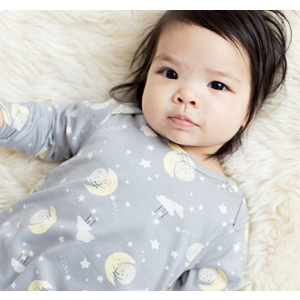 Baby Little Sleeper Gown In Organic Pima Cotton from Hanna Andersson