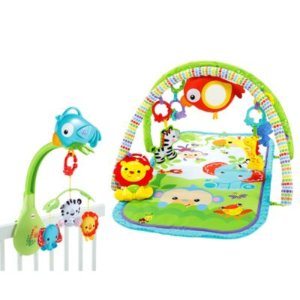 Fisher-Price Rainforest Gym & Mobile Gift Set | FBH65 | Fisher-Price