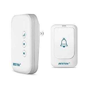 Win free doorbells BESTEK Portable Doorbell Kit Operating