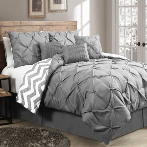 House of Hampton Germain 7 Piece Reversible Comforter Set & Reviews | Wayfair