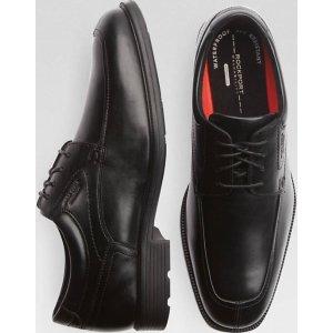 Rockport Algonquin Black Moc Toe Oxford Dress Shoes - Men's Dress Shoes   Men's Wearhouse