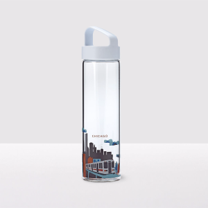 You Are Here Collection Water Bottle - Chicago