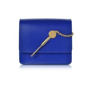 Sophie Hulme Klein Blue Small Cocktail Stirrer Bag