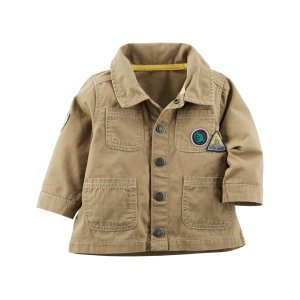 Baby Boy Canvas Utility Jacket   Carters.com