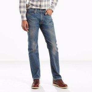505™ Regular Fit Stretch Jeans   Ficus  Levi's® United States (US)
